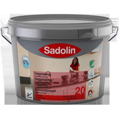 Sadolin Väggsfärg 20 - perfekt för köksluckorna.