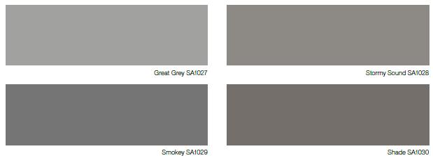 Kalla och varma mörka grå nyanser kan göra stor skillnad i ditt rum.