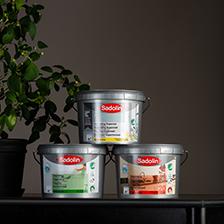 Sadolin väggfärg Supermatt glans 7 och 20